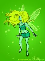 Green Fairy by sawebee