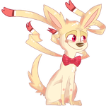 Ninfia/Sylveon Adoptable Auction! by skrollmon