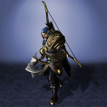SMITE Ullr by ArmachamCorp