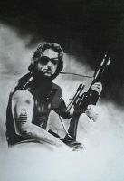 KURT RUSSEL PORTRAIT by BUMCHEEKS2