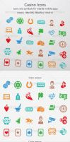 Casino Icons by ottoson