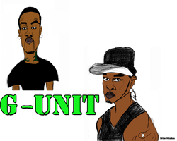 G-Unit colored by Bicabo