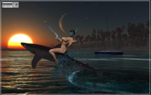 Spearfishing by FOTOMASTER03