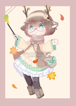 Set Price :: Autumn Deer [ Closed ] by Devi-Adopts