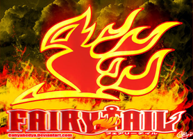 Fairy Tail Fire symbols by Cahyahedya