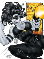 Domino - Commission by TracyWong