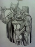 unfinished Thor by HeWhoStarvesOften