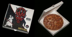 Darth Maul Pizza Papertoy by Tektonten