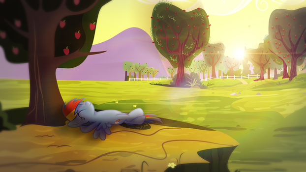 Peaceful Meadow by AeliosZero