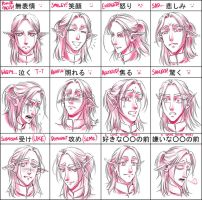 Pixiv Expression Practice Meme for Silas by sonialeong