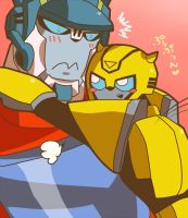 Optimus x Bumblebee by jurokubu