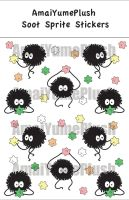 Spirited Away Soot Sprite Stickers (Set of 10) by Hazuhazuheavn