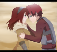 Commission: Gaara and Kasumi by annria2002