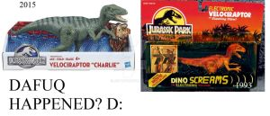 Jurassic Park Toys: Dafuq Happened? by JettRyu