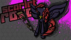 Scarlet Rose [Splash Art] by rorycon