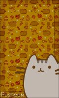 We love Pusheen - Pusheen smartphones Wallpaper by Myrellibelli