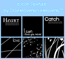 6 Icon Textures by DayHeavenly