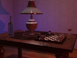 3D Table of Chess 3 by andro140