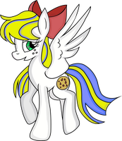 Cookie Dough. [Vectored - Kind Of] by The-Queen-Of-Cookies