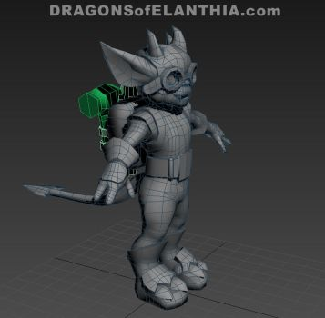 Tinker Lowpoly by Satyrikal