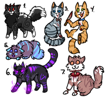 Spooky adopts by BeCarefulPaint