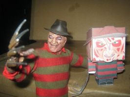 Cubeecraft freddy krueger by RatedrCarlos