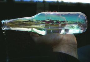Sky In A Bottle:In the Mountains by ANGELi-photography