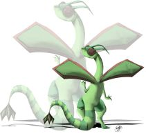 Flygon by Shokuin