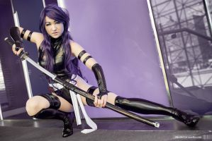 X-Force Bishojou Psylocke - X-men by Mostflogged