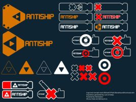Antiship Logo Dootle by Norsehound