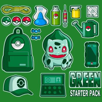 Green starter pack by MIKELopez