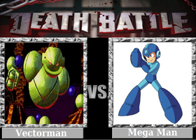 DEATH BATTLE! Idea: Vectorman VS Mega Man by Powershade117