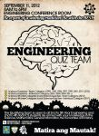 Engineering Quiz Team Poster by aryan26
