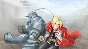Edward and Alphonse Elric by LOLingboy