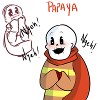 The Great Papaya by UniverseCipher