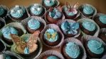 Some Cupcakes with Butterflies by KellyGreeny