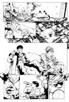 Trigun, The Death of Nicholas D. Wolfwood 1 by CPuglise9