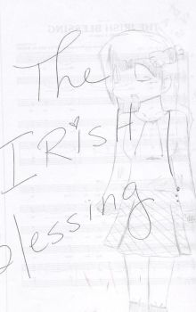 Irish Blessing Sketch by LadyKL