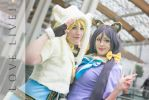 Smile at the camera. Love live cosplay. by Giuzzys