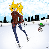 Fail Iceskating by Jackie--Jack