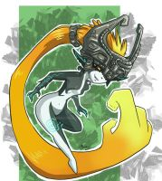 Midna Sketch by MingChee