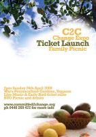 Ticket Launch Flyer by grapple-media