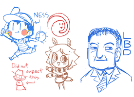 Livestream Doodles 10/7/2012 by The-Knick