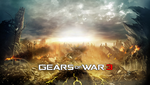 Gears of war 3 Custom Theme by DecadeofSmackdownV3