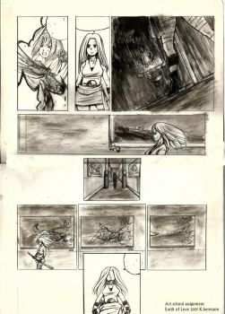 Oldies scan: Earth of lOVE assignment page random by K-hermann