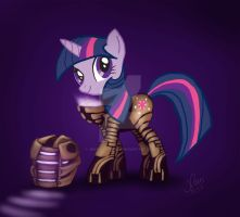 Dead Space Twilight Sparkle by JenTheThirdGal