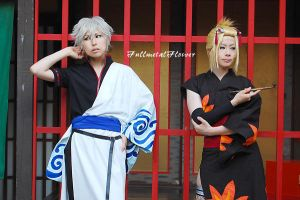 gintama:gintoki and tukuyo2 by fullmetalflower