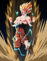 Fan art goku full power by kakarotoo666