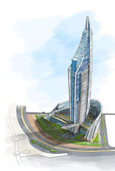architectural view 03 by dayanandan