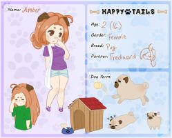 Happy-Tails App: Amber by NerdyCherry